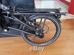 Mezzo D10 Foldable Bike in Good Condition, Commuter and Carrier Bags Included