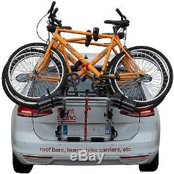 Mont Blanc Super Rider + Foldable Locable Rear Boot Mounted 3 Bike Cycle Carrier