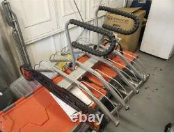 Mottez Cycle Bike Carrier 4 Bike Tow Bar Bike Rack Carrier As Thule Halfords