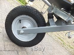 Mottez single wheel 5 bike trailer carrier towbar mounted hardly used, extras