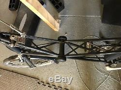Moulton Am7 Bicycle Built 1983 Rear Carrier & Basket Excellent Condition