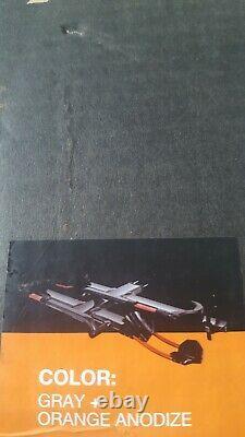 NEW KUAT NV 2.0 Add-On Extension 2 Bike Car Rack Carrier Metallic Gray & Orange