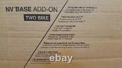 NEW KUAT NV BASE 2.0 2 Bike Add-On Extension Car Rack Carrier Matte Black