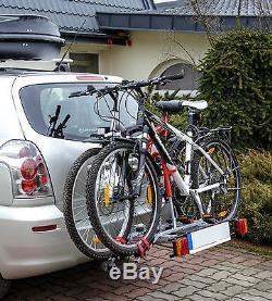 New Model Titan 2 Towbar Mounted Tilting 2 Bike Rack / Two Cycle Carrier 4x4