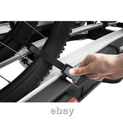 New Thule 938 VeloSpace XT 2 Towbar Mount 2 Cycle Carrier Travel Rack Tilting