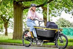New electric child carrier cargo bike contact us now for more information