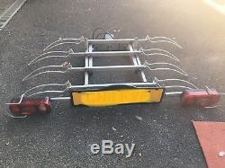 Nimbus Saffier IV Towbar Mounted Tilting 4 Bike Rack / Four Cycle Carrier