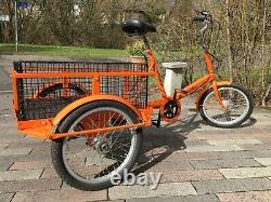 Pashley Loadstar Adult tricycle, Cargo Tricycle, Ice cream Tricycle, Kids carrier