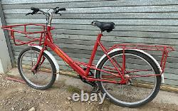 Pashley Mailstar Ex-Royal Mail Delivery Cycle Trade Bike Carrier