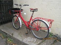 Pashley trade bike carrier bike Pronto Mailstar ex-Royal Mail