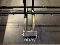 Pendle 4 Cycle Tow Bar Mounted Rack. Wheel Support Bike Carrier