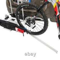 Peruzzo Zephyr Towbar Cycle E-Bike Carrier 3 Bike Car Tow Bar Ball Tilting Rack