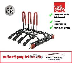 Platform 4 Towbar Mounted 4 Bike Rack / Four Cycle Carrier