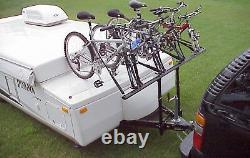 ProRac Camper Trailer 4 Bike Bicycle Carrier Rack