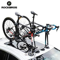 ROCKBROS Bike Bicycle Rack Carrier Suction Roof-top Quick Installation Roof Rack
