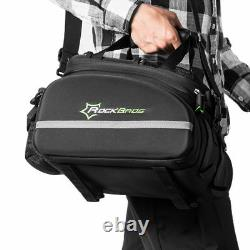 ROCKBROS Bike Rear Carrier Bag Cycling Bicycle Travel Rear Pack Pannier Large