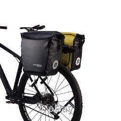 ROCKBROS Waterproof Pannier Bag Cycling Bike Travel Rear Seat Carrier 18 L