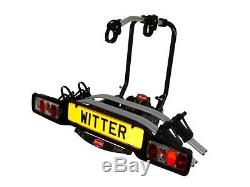 Refurb Witter ZX502 Towball Mounted Tilting 2 Bike Platform Style Cycle Carrier