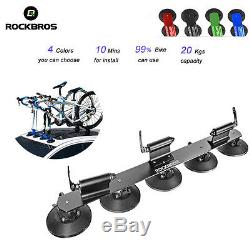 RockBros Bike Suction Rooftop Carrier Quick Installation Roof Rack Three-bikes