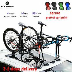 Rockbros Sucker Roof-top Bicycle Rack Carrier Easy Install Roof Rack Bike Holder