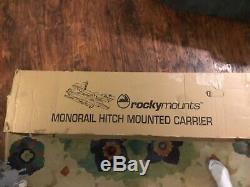 Rocky mounts bike rack monorail hitch mounted carrier model 11415