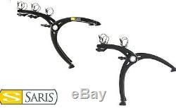 SARIS Bones 2 or 3 Bike Rear Car Rack Carrier Cycle Travel Holder Boot Hatch