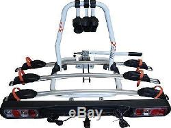 STREETWIZE TITAN 3 CYCLE CARRIER BIKE RACK TOWBALL MOUNTED swan neck car swcc8