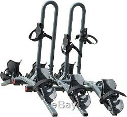 SUV Bike Rack For Car Mount Tow Hitch 3 Folding Truck Bicycle Carrier Travel