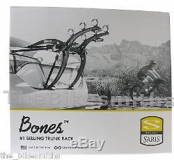 Saris BONES 3 #801 Bike Car Trunk GRAY Rack Bicycle Carrier US Lifetime Warranty