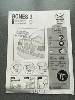 Saris Bones 3-Bike Car Rack carrier