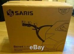 Saris Bones 3 Bike Carrier, Car Boot Fitting Rack Black
