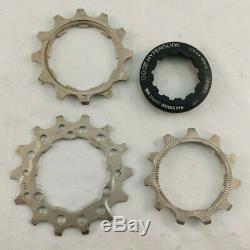 Shimano XTR CS-M970 cassette 9sp 11-32 titanium mountain bike alloy carriers MTB