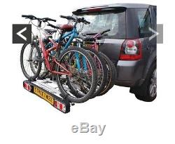 Streetwize Accessories Titan Towball Cycle Carrier For 4 Bike