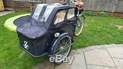 Stunning Johnny Loco eCargo Electric Bike Trike Kid Child Carrier Bakfiets