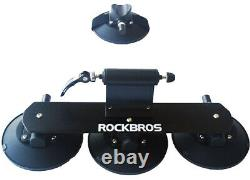 Suction Cup Bike Rack for Car Roof Top Aluminium Bicycle Carrier