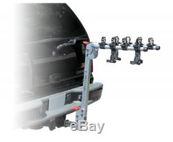 Swiss Cargo, 4 Bicycle, Bike Rack Hitch Mount Carrier, Car/Truck SUV, 1/14& 2