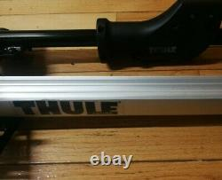 THULE 594XT 56 Sidearm Single BICYCLE ROOF RACK Upright Bike Carrier