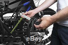 THULE VELOSPACE XT 3 TOW BAR CYCLE CARRIER 3 or 4 BIKE IDEAL FAT BIKES E BIKES