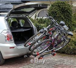 Top Spec Menabo Towbar Mounted Cycle Carrier For 3 Bikes Bicycles Motorhome Car