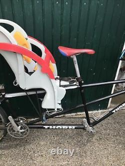 Thorn Voyager tandem triplet cargo bike Baby carrier