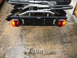 Thule 3 Bike Rack Carrier Tow Bar 9403 with additional lock