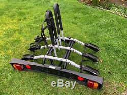 Thule 3 Bike Towbar Bike Rack Cycle Carrier 9503 Th9503 Tow Bar Mounted
