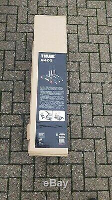 Thule 3 bike carrier tow bar thule 9403