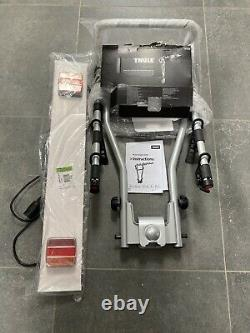 Thule 4 bike rack tow bar Mount Cycle Carrier Now With LED Light Board Thrown In