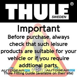 Thule 565 565001 ThruRide Upright Bike Cycle Axles Fork Mount Car Roof Carrier