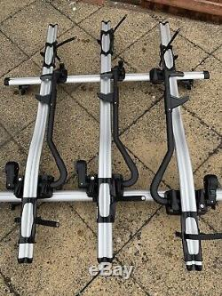 Thule 591 Pro Ride Roof Mount Cycle Bike Carrier X3 and Roof Bars X2
