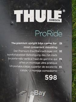 Thule 598 ProRide TWIN PACK premium roof-mount bike carrier, excellent condition