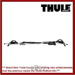 Thule 598 ProRide Twin Pack Roof Mount Cycle/Bike Carriers. 591 Replacement