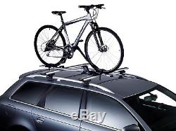 Thule 757 Foot Pack 969 WingBars & 591 Pro Ride Bike Cycle Carrier Roof Rack