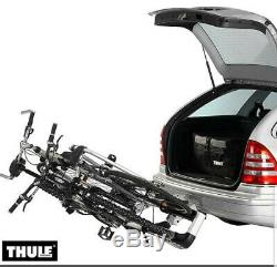Thule 908 Towbar Mount 2 Cycle Carrier Bike Rack Lightweight Compact